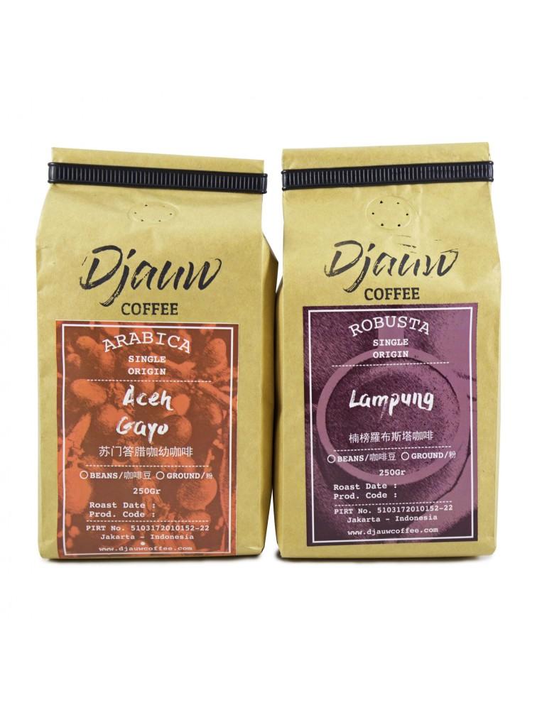 Package 1 - Taste of West Indonesian Coffee