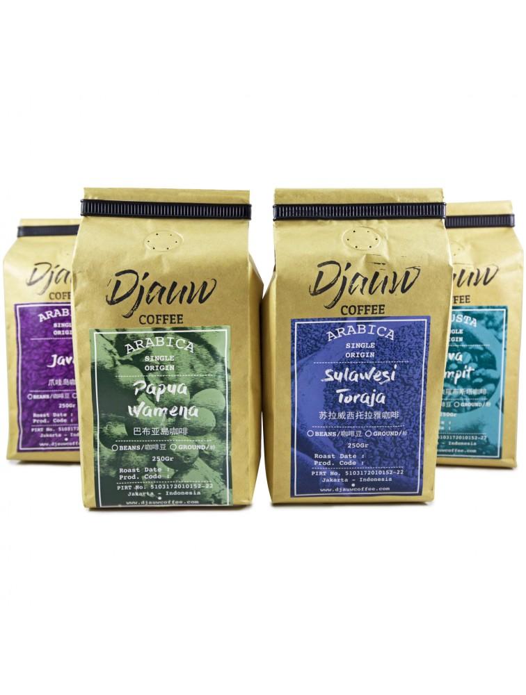 Package 2 - Taste of East Indonesian Coffee